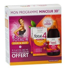 Total 4 jour & nuit - lot de 2 + speed draineur - nutreov -220789