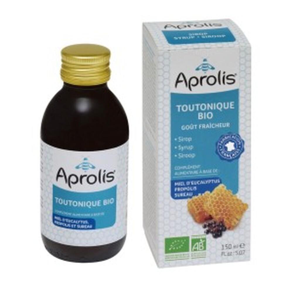 Toutonique sirop : miel, camomille, sureau - 150.0 ml - sirops concentrés - aprolis -14813
