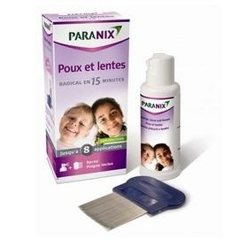 Traitement anti-poux et lentes spray  + peigne - 100.0 ml - anti poux - paranix -124583