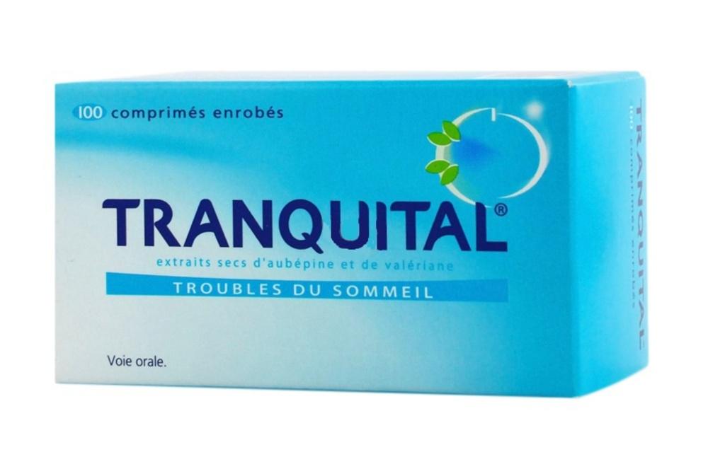 Tranquital - 100 comprimés - novartis -192778