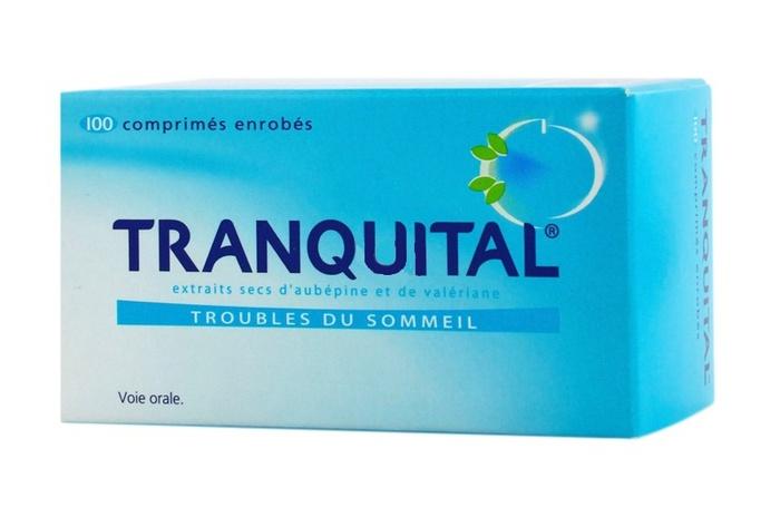 Tranquital - 100 comprimés Novartis-192778
