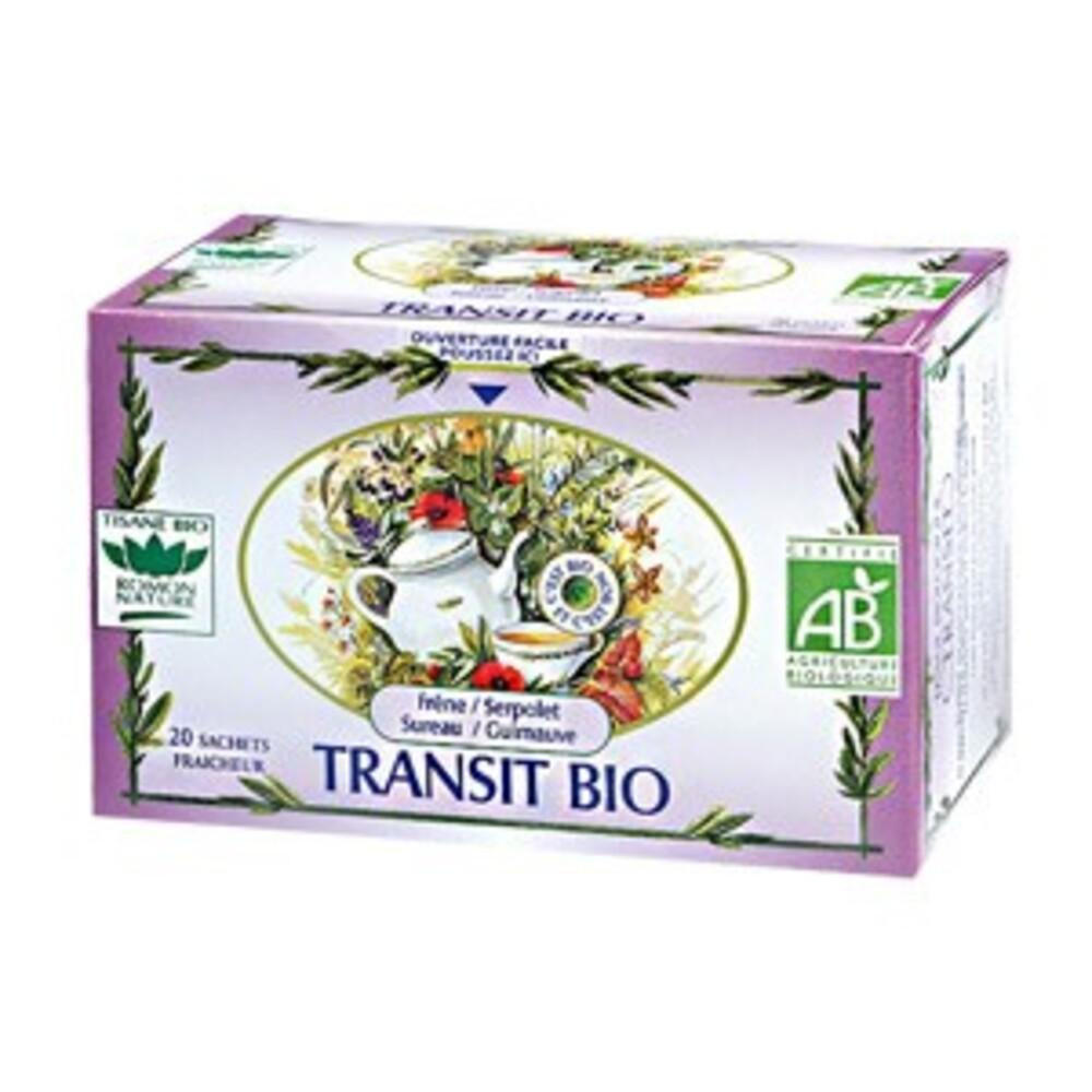 Transit - 20.0 unites - tisanes complexes bio - romon nature Frêne, Serpolet, Sureau, Guimauve-16183