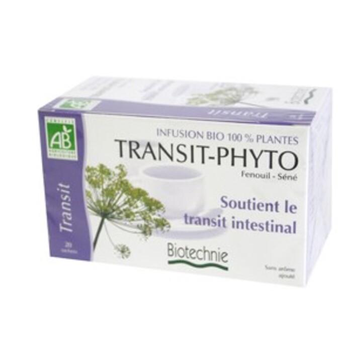 Transit phyto infusion bio - 20 sachets Biotechnie-134305