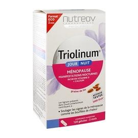 Triolinum jour/nuit ménopause 120 gélules - nutreov -194988