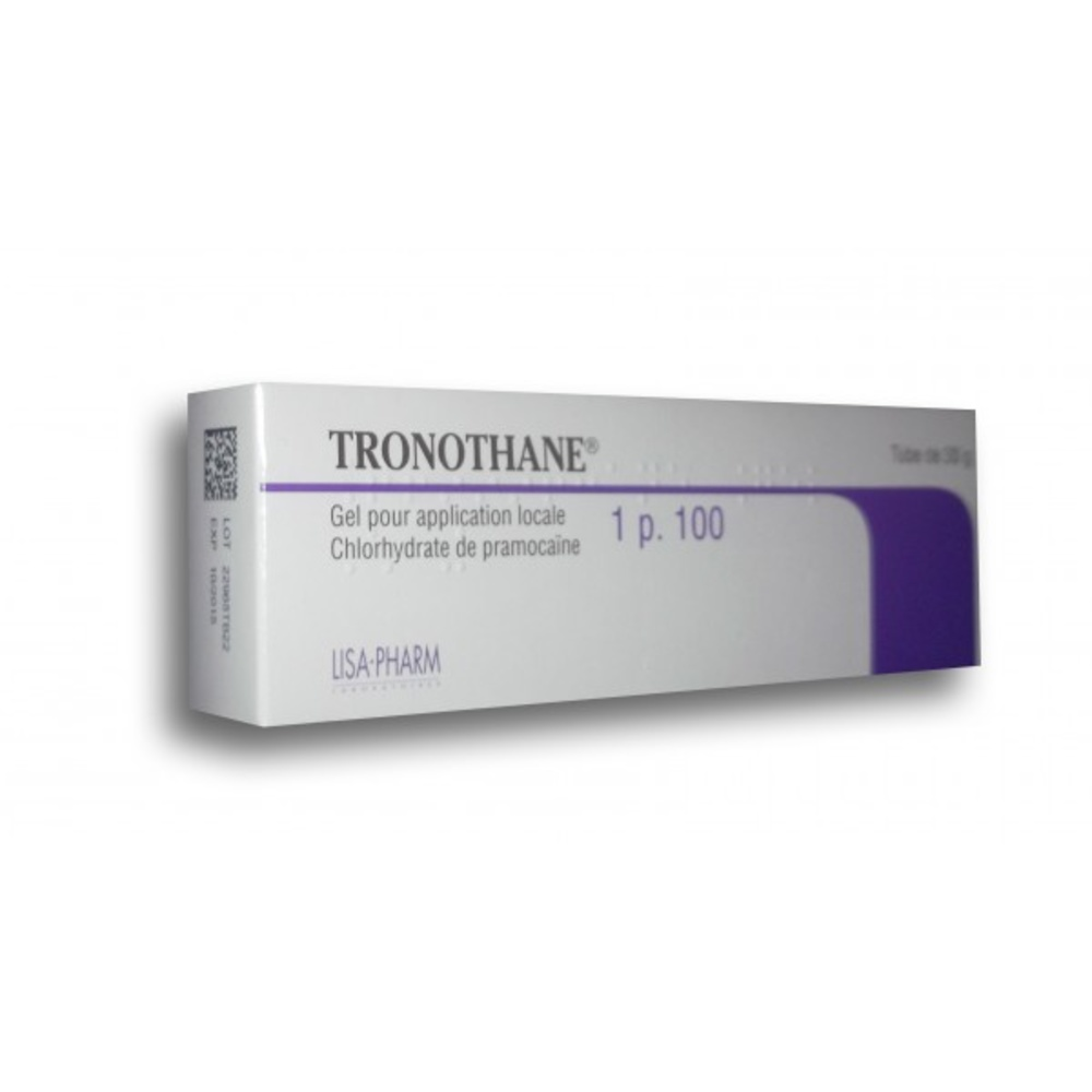 Tronothane 1% gel - 30g - lisa pharm -206929