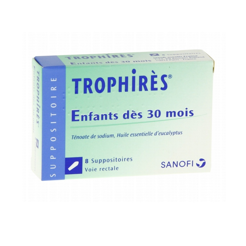 Trophires enfants - 8 suppositoires - sanofi -193076