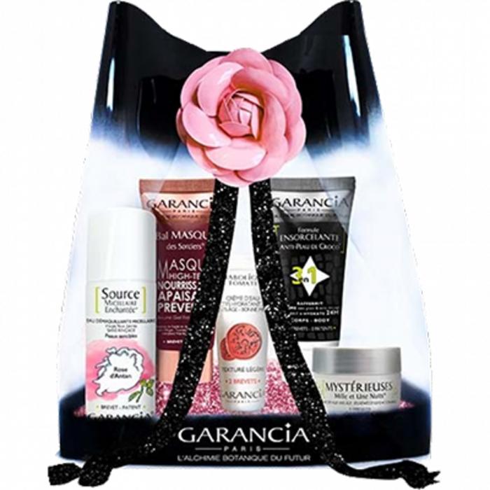 Trousse de voyage romantic rose Garancia-219311