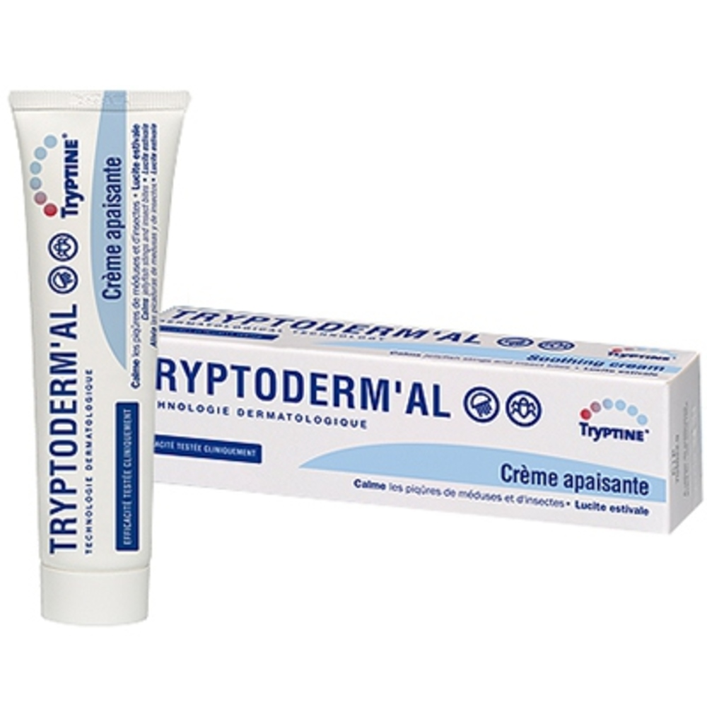 Tryptine tryptoderm'al crème apaisante - 60g - laboratoire drs coulet -204160