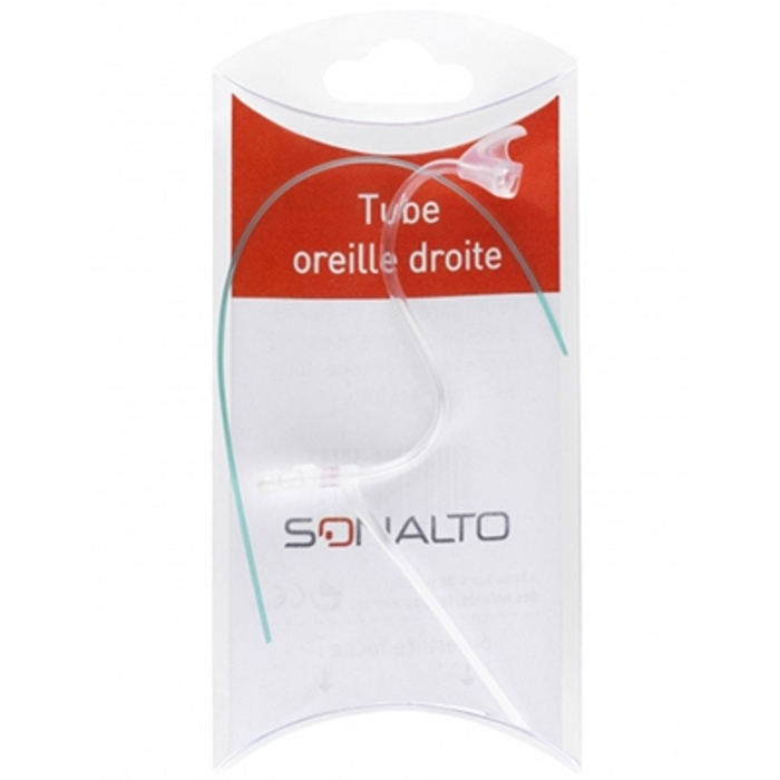 Tube pour assistant d'ecoute oreille droite Sonalto-205400