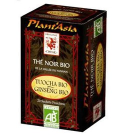 Tuocha / ginseng - 20.0 unites - thés bio - plant'asia -16217