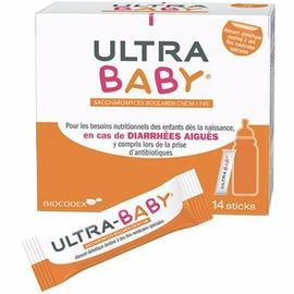 Ultra baby 14 sticks - biocodex -213316