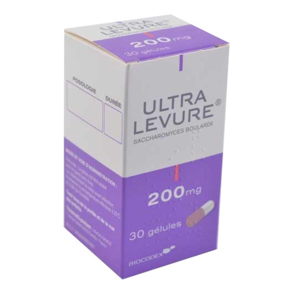 Ultra-levure 200mg - 30 gélules - biocodex -192734
