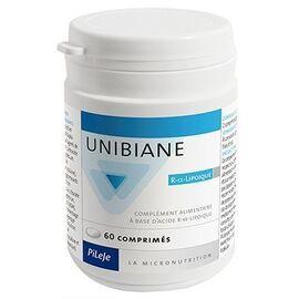 Unibiane r-alpha-lipoïque 60 comprimés - pileje -220604