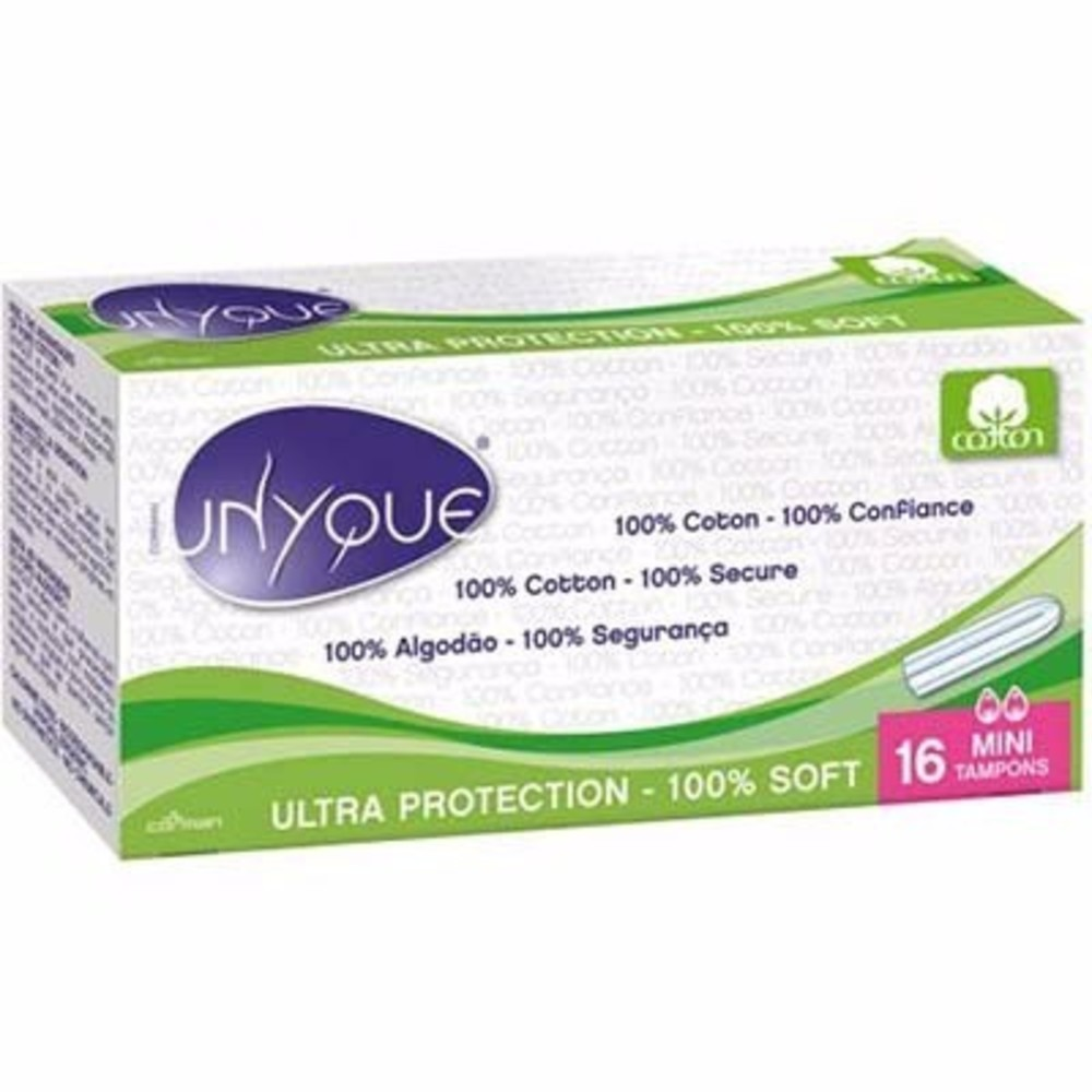 Unyque tampons sans applicateur mini x16 - unyque -191967