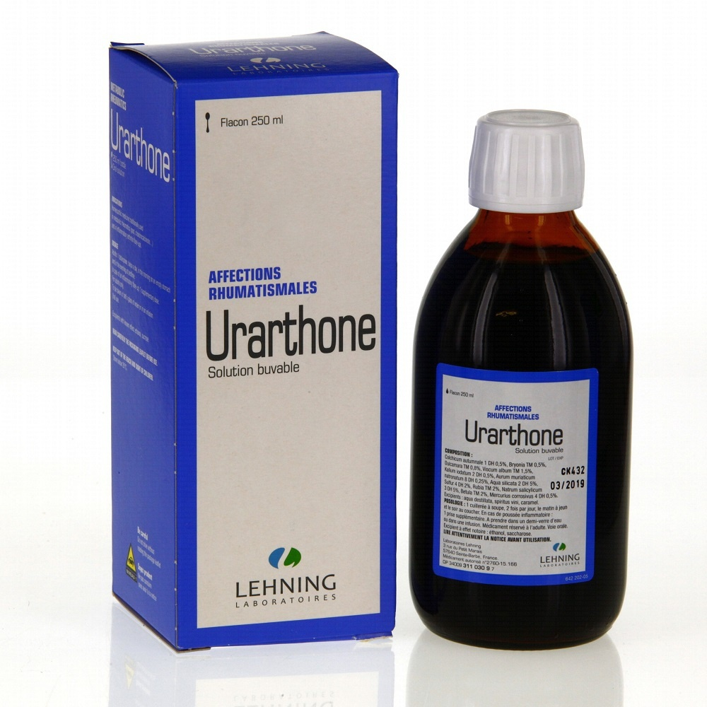 Urarthone solution buvable - 250.0 ml - laboratoire lehning -193072