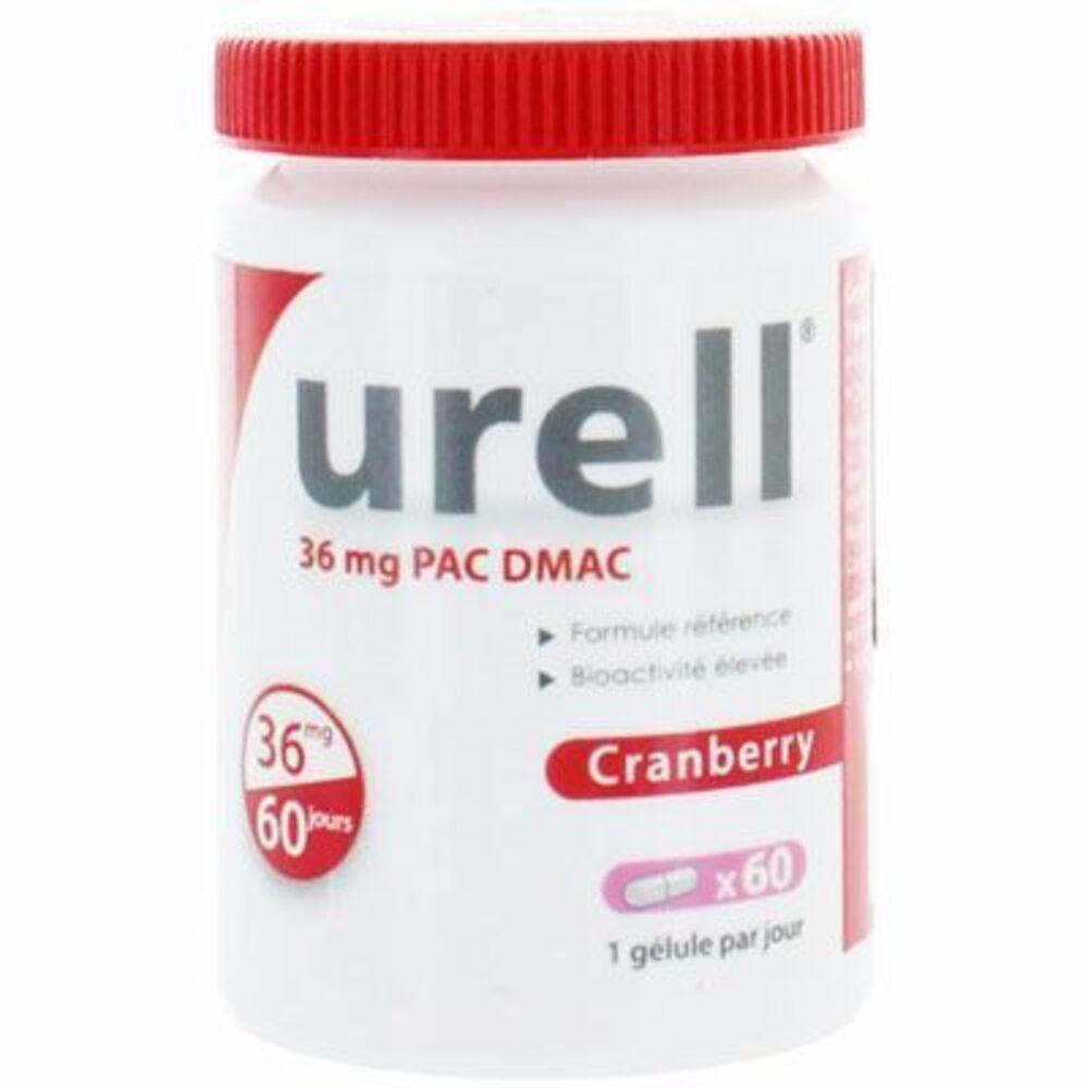 Urell cranberry 60 gélules - urell -215479