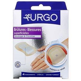 Urgo brûlures blessures superficielles pansements - urgo -145745