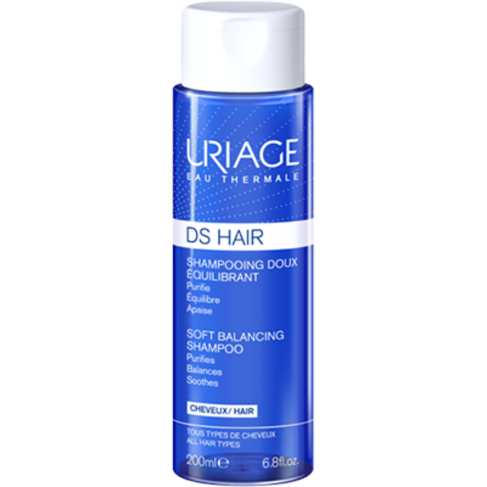 Uriage ds hair shampooing doux equilibrant 200ml Uriage-224373