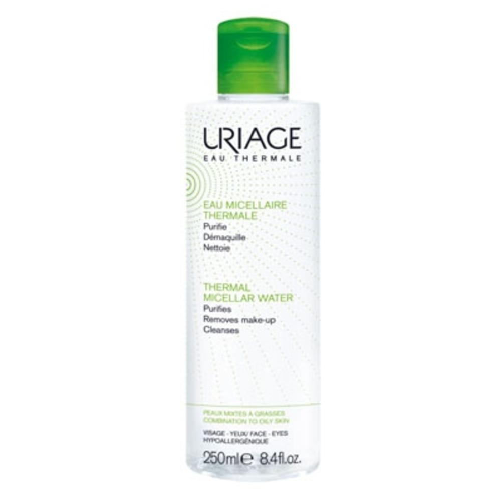Uriage eau micellaire thermale peaux mixtes à grasses - 250ml - uriage -202981