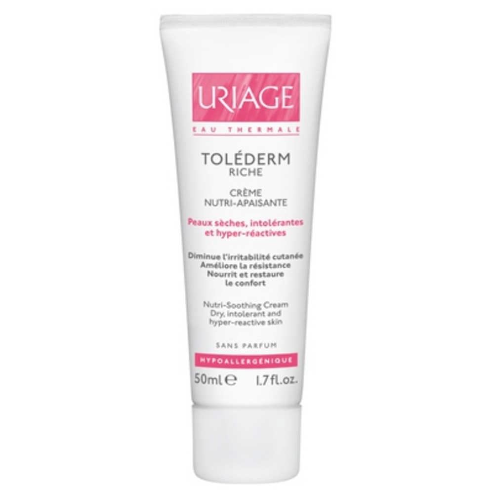 Uriage toléderm crème riche nutri-apaisante 50ml - uriage -92743