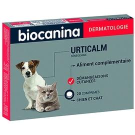 Urticalm - 20 comprimés - biocanina -206054