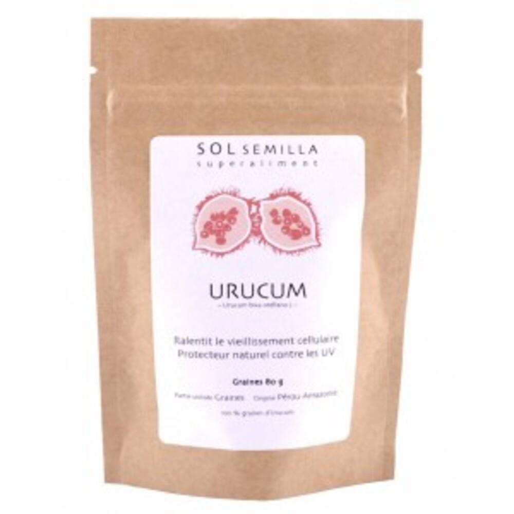 Urucum graines - 80 g - divers - sol semilla -142662