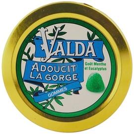 Valda gommes menthe eucalyptus - 50.0 unites - confiserie - valda -139354