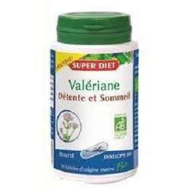Valériane bio - 90.0 unites - les gélules de plantes bio - super diet Détente et sommeil-138947
