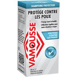 Vamousse anti-poux shampooing préventif 200ml - sinclair -221670