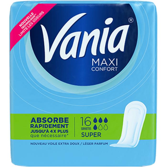 Vania maxi confort super 16 serviettes Vania-223738