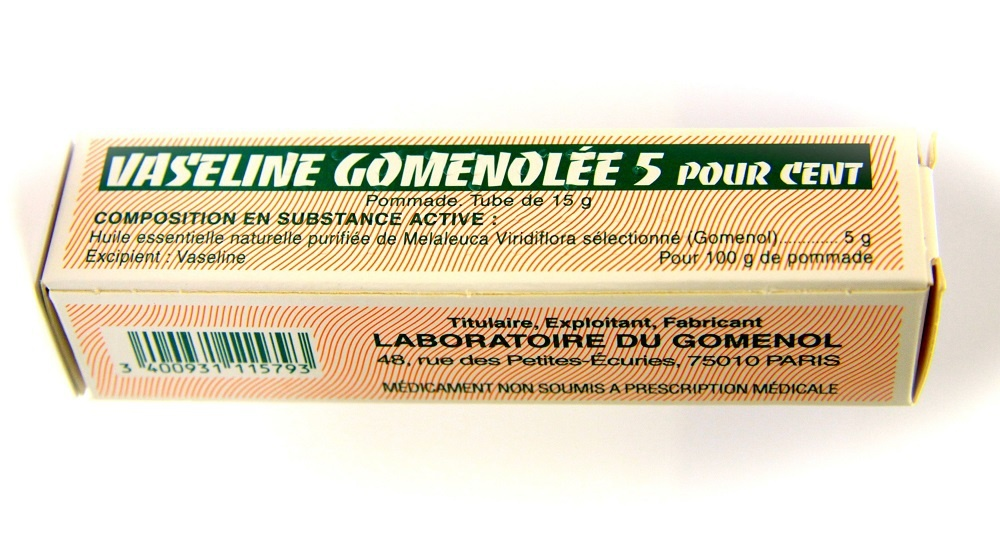 Vaseline gomenolee 5% - 15g - 15.0 g - laboratoire du gomenol -193071