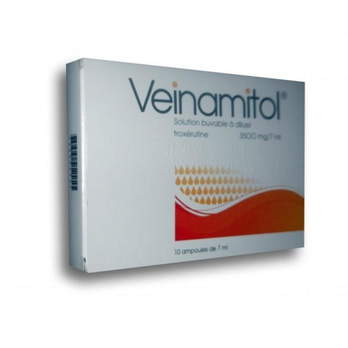 Veinamitol 3500mg/ - 10 ampoules x Negma-193012