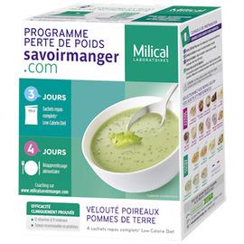 Velouté poireaux pommes de terre - 4 sachets - milical -204873