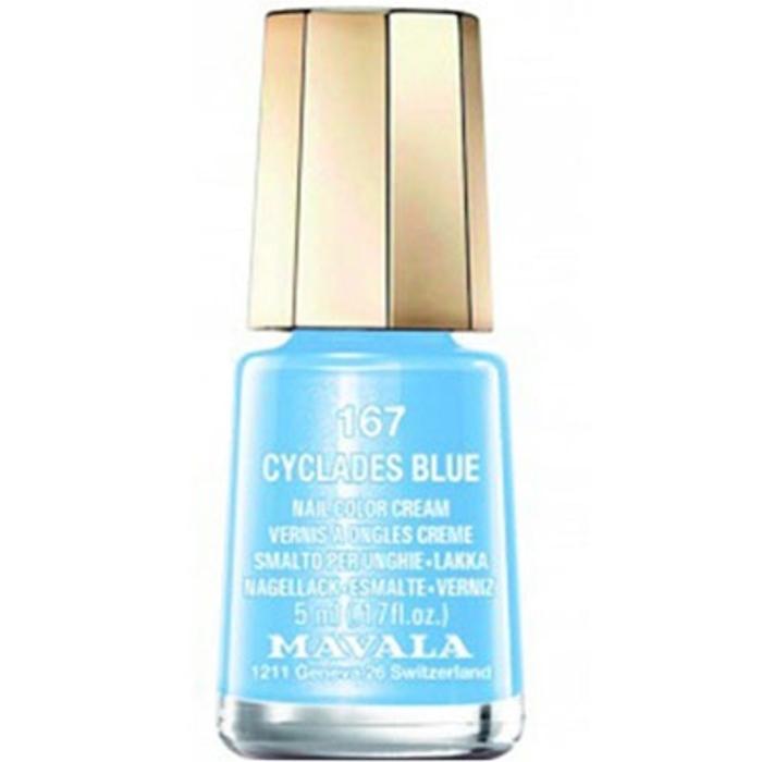 Vernis à ongles 167 cyclades blue Mavala-147167