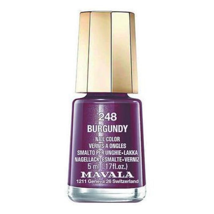 Vernis à ongles 248 burgundy 5ml Mavala-147248