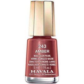 Vernis à ongles amber 243 - 5.0 ml - mavala -147243