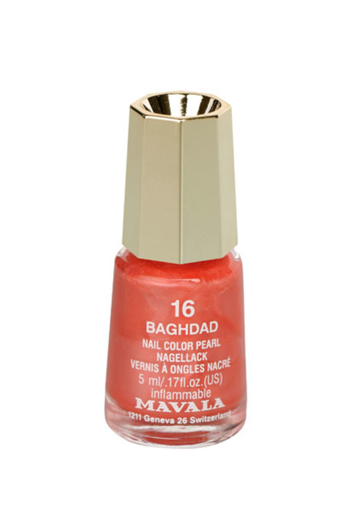 Vernis à ongles baghdad mini - 5.0 ml - mavala -191637