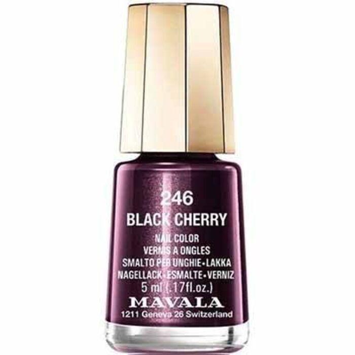 Vernis à ongles black cherry 246 Mavala-147246