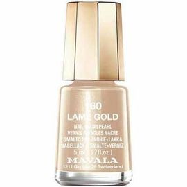 Vernis à ongles lamé gold 160 - 5.0 ml - mavala -147160