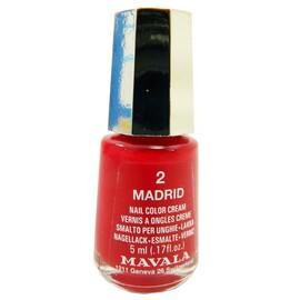 Vernis à ongles madrid mini - 5.0 ml - mavala -191639