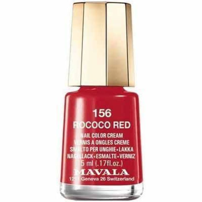 Vernis à ongles rococo red 156 Mavala-147156