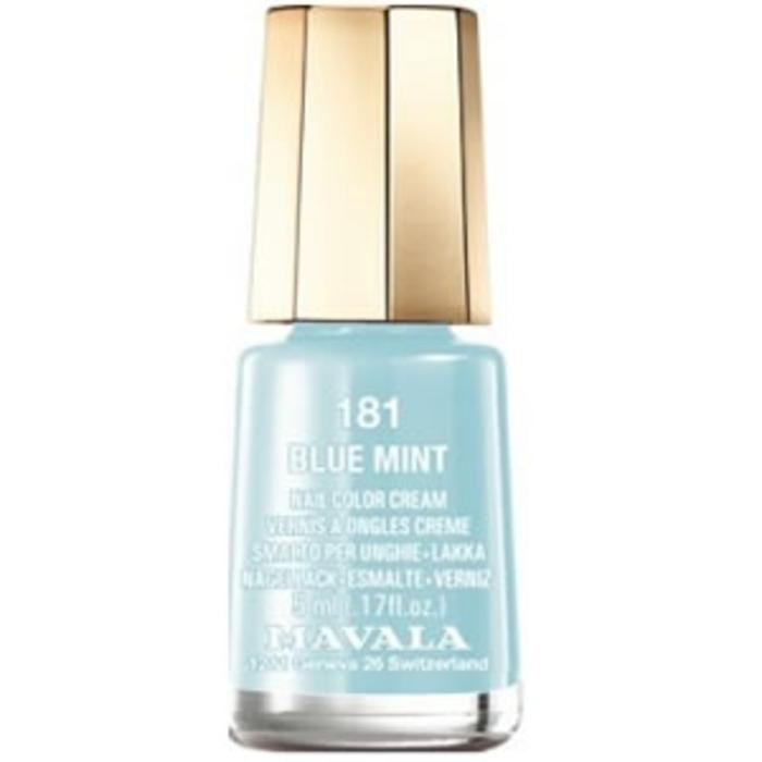 Vernis blue mint 181 Mavala-147193