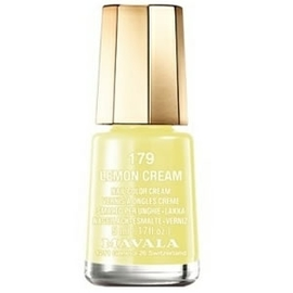 Vernis lemon cream 179 - 5.0 ml - mavala -147179