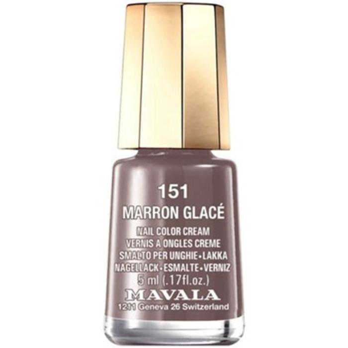 Vernis marron glacé 151 Mavala-147134