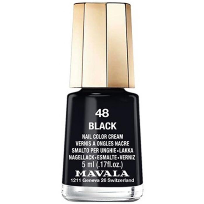 Vernis noir 48 Mavala-147033