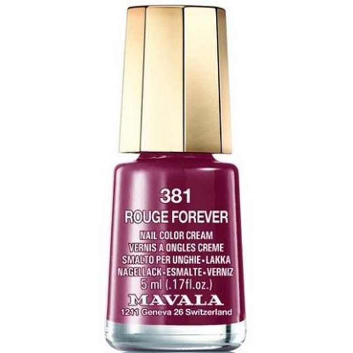 Vernis rouge forever 381 Mavala-147331