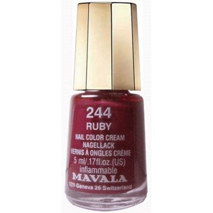 Vernis ruby 244 Mavala-147244