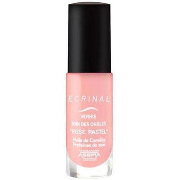 Vernis soin des ongles rose pastel Ecrinal-144433