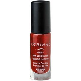Vernis soin des ongles rouge indien 6ml - ecrinal -222973