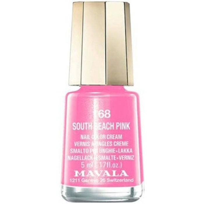 Vernis south beach pink 168 Mavala-147168